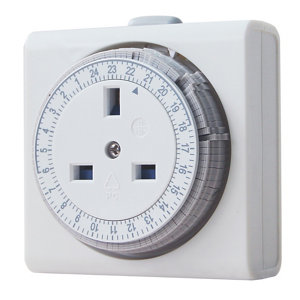 Image of Diall 24 hour Mechanical Timer
