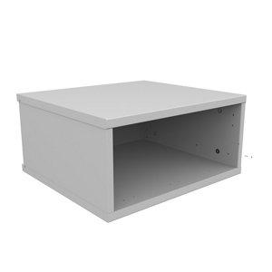 Image of Form Oppen Matt white Wall unit (H)240.5mm (W)499mm (D)450mm
