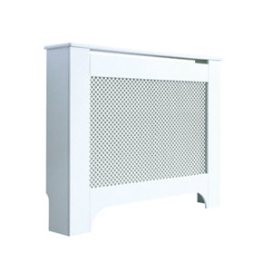 Mayfair Medium White Radiator cover