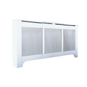 Image of Mayfair Medium - large White Adjustable Radiator cover