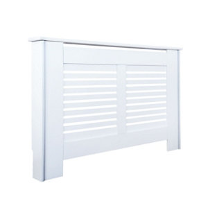 New suffolk Small White Radiator cover