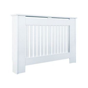 Kensington Small White Radiator cover