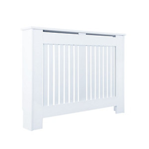 Kensington Medium White Radiator cover