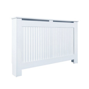 Kensington Large White Radiator cover