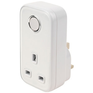 Image of Hive Active Plug-through socket adaptor