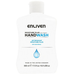 Image of Enliven Moisture plus Moisture Anti-bacterial Hand wash 500ml