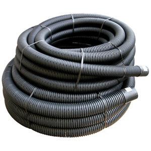 Image of FloPlast Black Flexible Waste pipe (Dia)100mm