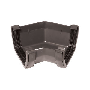 Image of Anthracite grey Square 135° Gutter angle