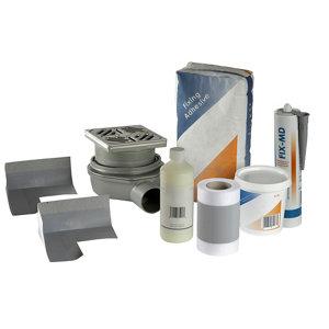 Image of Aquadry Wet room waste & waterproofing kit