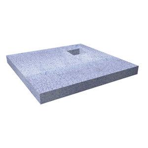 Image of Aquadry Rectangular Shower tray (L)900mm (W)900mm (D)30mm