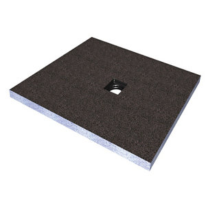 Image of Aquadry Square Shower tray kit (L)1000mm (W)1000mm (D)45mm