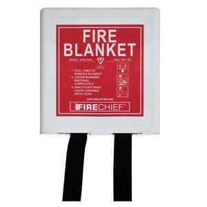Image of Firechief BPW1/K40 Fire blanket (L)0.3m x (W)0.18m