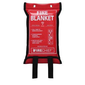 Image of Firechief SVB1/K40 Fire blanket (L)0.3m x (W)0.17m