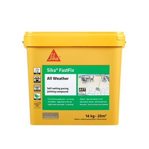 Image of Everbuild Sika® FastFix All Weather Deep Grey 14kg