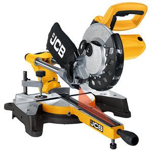Image of JCB 1500W 240V 210mm Sliding mitre saw JCB-MS210-SB