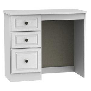 Polar White 3 Drawer Dressing table (H)800mm (W)930mm (D)410mm