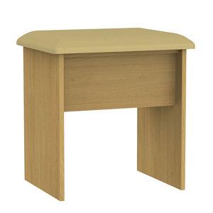 Image of Montana Oak effect Dressing table stool (H)510mm