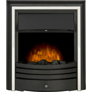 Image of Adam Cambridge Black Electric Fire