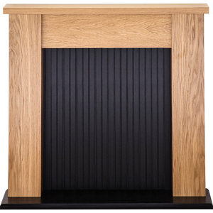 Image of Adam Airdrie Black Fire surround