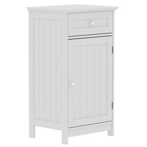 Image of Lassic Rebecca Jones Matt White Single door Drawer cabinet (W)430mm
