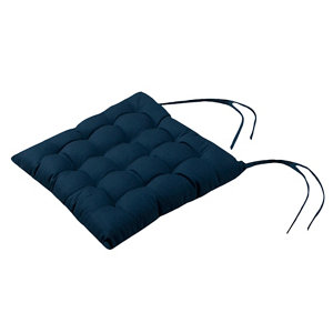 Image of Midnight navy Plain Seat pad