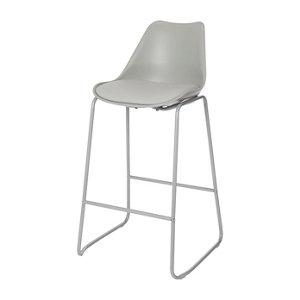 Marula Light grey Bar stool