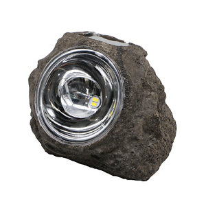 Image of Grey Solar-powered Integrated LED Outdoor Decorative light