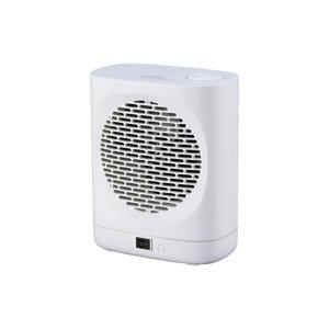 Image of GoodHome 2000W White Freestanding Fan heater