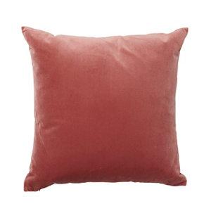 Image of Valgreta Plain Old rose Cushion
