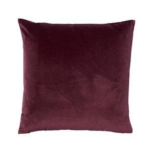 Image of Valgreta Plain Burgundy Cushion