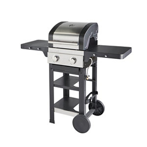 Image of GoodHome Owsley 2.0 Black 2 burner Gas Barbecue