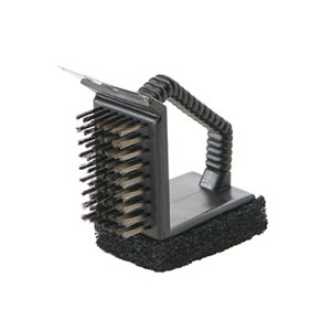 Image of GoodHome 3 in 1 Grill cleaning brush