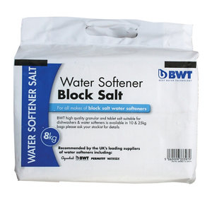 Image of BWT Block Water softener salt 8kg