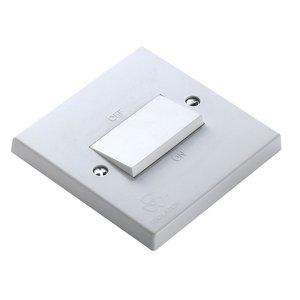 Image of Power Pro 10A 1 way White Single Fan isolator Switch