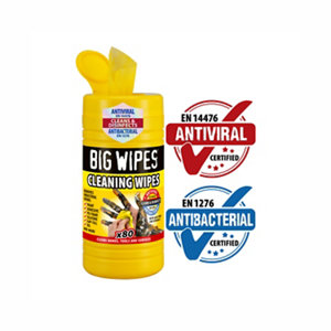 Image of Big Wipes Unscented Cleaning wipes Pack of 80