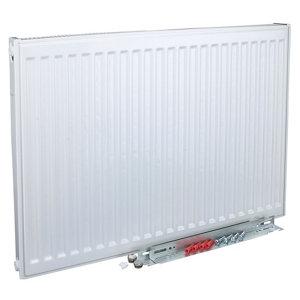 Image of Kudox Type 11 Single Panel Radiator White (W)1000mm (H)500mm 14.1kg