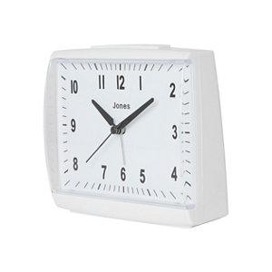 Image of Jones Dreamland White Quartz Alarm clock