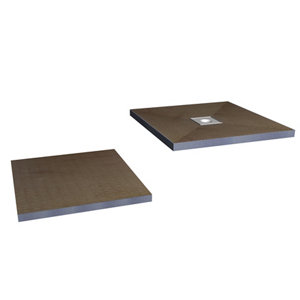 Image of Aquadry Wetzone Shower tray kit (L)1850mm (W)750mm (H)50mm