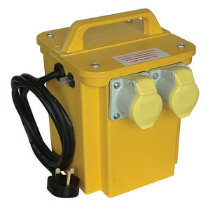 Image of Carroll & Meynell Yellow 750VA Site transformer