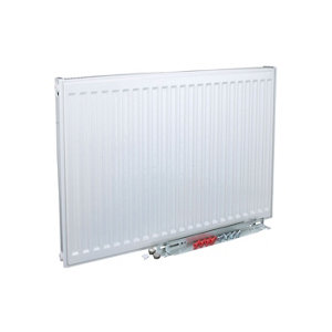 Image of Kudox Type 11 Single Panel Radiator White (W)1100mm (H)400mm