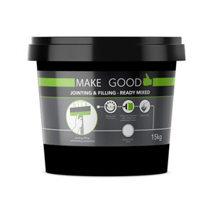 Image of Make Good Plasterboard Jointing filling & finishing compound 15kg Tub