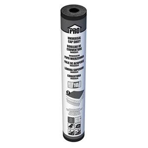 Roof pro Universal Grey Roofing cap sheet felt  (L)10m (W)1m