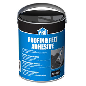 Image of Roof pro Roof felt adhesive 5kg