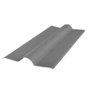Image of BTM Corrubit Grey Bitumen Ridge capping (L)1000mm (W)450mm