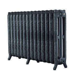 Image of Arroll Montmartre 3 Column Radiator Anthracite (W)1154mm (H)760mm