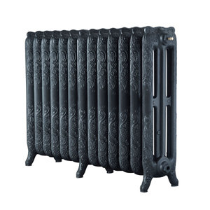Image of Arroll Montmartre 3 Column Radiator Anthracite (W)1074mm (H)760mm