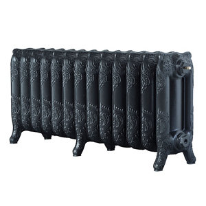 Image of Arroll Montmartre 3 Column Radiator Anthracite (W)1074mm (H)470mm
