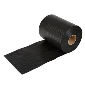 Image of Capital Valley Plastics Ltd Black 500 Micron Damp proof course (L)30m (W)225mm