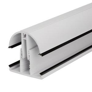 SNAPA White PVC Glazing bar  (L)3m (W)45mm (T)25mm