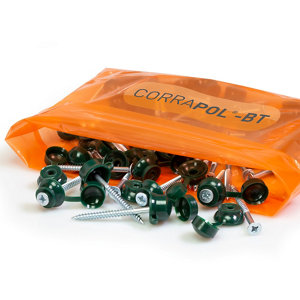 Image of Corrapol Green Roofing screw (L)950mm